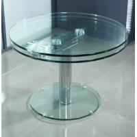 Wholesale 8mm Round Tea Coffee Table Tempered Glass Panel For Office table from china suppliers