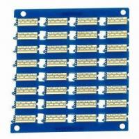 Buy cheap 4-layered PCB with Thickness of 1.6mm and Copper Thickness of 1.0oz from wholesalers