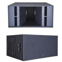 Buy cheap Dual 18'' Subwoofer 2500W RMS 5000W Peak Pro Concert Subwoofer from wholesalers