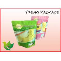 Wholesale Ziplock Plastic Resealable Bags Food Packing With Customized Logo , Stand Up from china suppliers