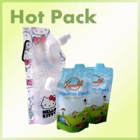Wholesale BPA Free Stand Up Baby Food Squeeze Spout Pouch With Zip Lock Child Resistant from china suppliers