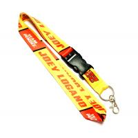 Wholesale Trol Shell Trademark Dye Sublimation Lanyards With Easily Match Color , Polyester Material from china suppliers