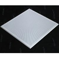 Wholesale Open Frame Lay In Ceiling Tiles, Micro Perforated T Bar Suspended False Ceiling Panel 595x595mm from china suppliers