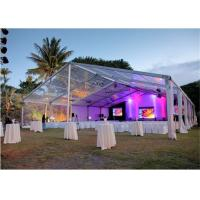 Wholesale 15x30m 500 Seaters Luxury Beautiful Wedding Party Tent Steel Frame Material from china suppliers