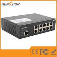 Wholesale 8 Port Gigabit 19.6 Gbps Daisy Chain Ethernet Switches Overload Current Protection from china suppliers