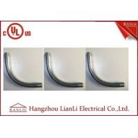 Wholesale 3 inch / 4 inch Steel Rigid Metal Conduit Elbow Nipple Electro Galvanized from china suppliers