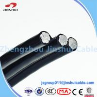Wholesale Aluminum Conductor Steel Reinforced Quadruplex Service Drop Cable Costena from china suppliers