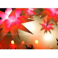 Wholesale 1.5m Star Shaped Inflatable Lighting Balloon For Ceiling Hanging Decoration from china suppliers