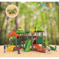 Wholesale commercial metal plastic swing sets outside play gym for toddlers from china suppliers