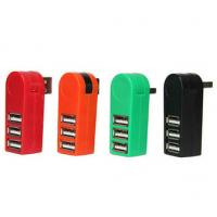 Wholesale Special design 3 fast micro mobile usb hub 270 degree rotate from china suppliers