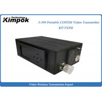 Wholesale Drone Helicopter Wireless Video Sender Receiver , 3-5 Watt Digital COFDM UAV Transmitter from china suppliers