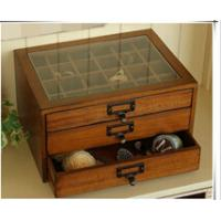 Wholesale Vintage wooden treasure chest with drawers from china suppliers