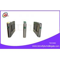 Wholesale Bi directional Swing Barrier Gate RFID Retractable Half Height Turnstile entry systems from china suppliers