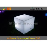 Wholesale Waterproof Colorful LED Cube Chair And Table For Night Clubs And Party from china suppliers