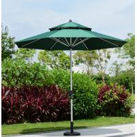 Wholesale hand pull rope center pillar umbrella coffee leisure parasol garden patio umbrella / tent ten002 from china suppliers