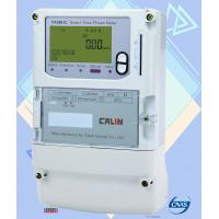 Wholesale Card Type Prepay Electric Meters / Encryption Load Switch 3 Phase Power Meter from china suppliers