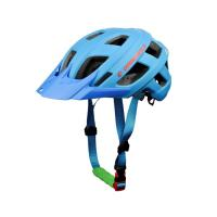 Wholesale Mountain Bike Mtb Enduro Helmet  Blue Professional Two Sizes Silk Screen Printing from china suppliers