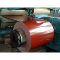 Wholesale Bright Red Galvalume Prepainted Steel Coils 0.15 Mm High Glossy from china suppliers