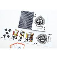 Buy cheap Gambling Cheating Marked Blue Bosswin Plastic Playing Cards With Invisible Ink from wholesalers