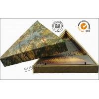 Wholesale Triangle Handmade Mounting Custom Printed Corrugated Boxes With Hard Insert Cardboard from china suppliers