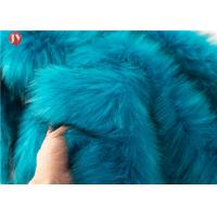 Wholesale Knitted Faux Fur Craft Fabric Squares Turquoise Fur Light Blue 58-60 Inch from china suppliers