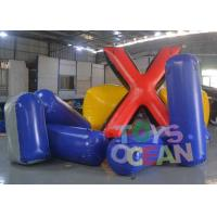 Wholesale Difference Shape Inflatable Paintball Bunkers Colorful Air Bunker Set For Sale from china suppliers