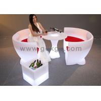 Wholesale Outdoor LED Round Bar CounterFurniture Glowing Rechargeable RGB Light from china suppliers