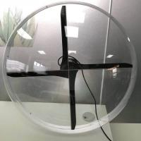 Wholesale New Arrive 65cm wifi 4 blades Holographic Digital Advertising Devices LED Fan 3D hologram advertising display showcase from china suppliers