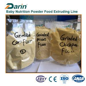 China Healthy Nutrition Powder Pet Food Production Line Breakfast Porridge Twin Screw on sale