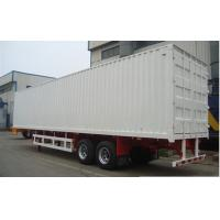 Wholesale Two / Tri axle flatbed / gooseneck Box Van Truck Trailer with 40T - 60T Loading capacity from china suppliers