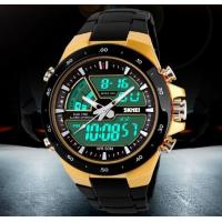 Wholesale SKMEI Coly 50M Waterproof Analogue Digital LCD Multifunctional Mens Sports Watch  1016 from china suppliers