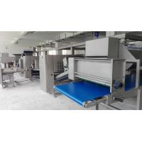 Quality 750mm Belt Width Puff Pastry Dough Machine With Siemens PLC European Standard for sale