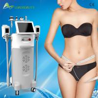 Wholesale 5 handles Weight Loss Cryolipolysis slimming beauty machine with RF / Cavitation from china suppliers