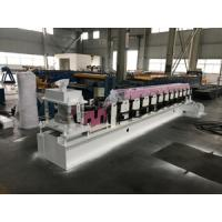 Wholesale Fully Automatic Metal Door Frame Roll Forming Machine With Lock Hole Station from china suppliers