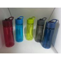 Wholesale 500ml Water Bottle with Straw Lid, Available in Various Colors, Made of Tritan from china suppliers