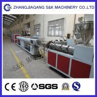 Wholesale Soft PVC Pipe Extruder Machine Single Screw Extrusion Process from china suppliers