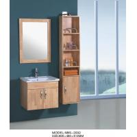 Wholesale Wall Hanging Bathroom Cabinets 60 X 46 X 51 / cm , 16mm oak wooden bathroom wall cabinets from china suppliers