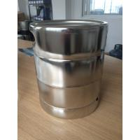 Quality US Standard Mirror Polished 5L Beer Keg / Beer Package 215MM Height for sale