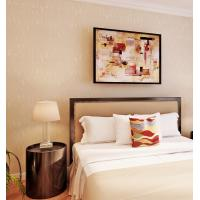 Wholesale Solid Color Washable Modern Removable Wallpaper Economical PVC Wallpaper from china suppliers