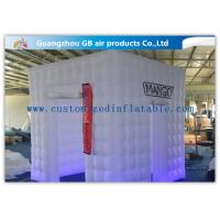 Wholesale Party / Wedding Inflatable Booth Tent 16 Led Light Colors With Remote Controller from china suppliers