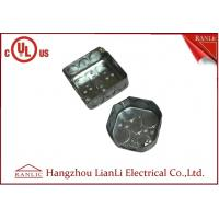 Wholesale Square And Octangular Steel Outlet Box Metal Junction Box 1.6mm Thickness from china suppliers