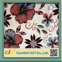 Wholesale Polyester Sofa Upholstery Fabric 2 Color Tone Flocking / Printing from china suppliers