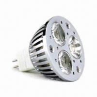 Wholesale 5W MAR16 Cree LED Bulb with 12V DC/AC Input Voltage and 650mA Operating Current from china suppliers