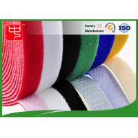 Wholesale Color Slitting Double Sided hook and loop Roll waterproof hook and loop tape Black / white from china suppliers