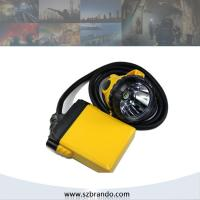 Buy cheap KL12LM 25000lux Corded coal miners headlamp with 10.4Ah Li-ion Battery from wholesalers