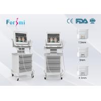 Wholesale Hot Promotion!!! Most advanced face lifting machine home hifu treatment with three hifu cartridge from china suppliers