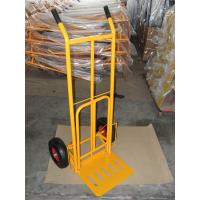 Wholesale Foldable Pneumatic Tyre Hand Trolley (HT1827) RUBBER WHEEL TYRE TIRE GARDEN TOOL CART from china suppliers