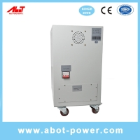 Wholesale ABOT 3 Phase SVC TND Servo Type Voltage Regulator AVR 20KVA For CNC Machine from china suppliers