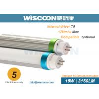 Wholesale 18 Watt G5 Pins 4ft LED Tube Light Ra80 For Fluorescent Tube Replacement from china suppliers