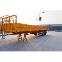 Wholesale 3 axle 40 cargo trailer wall panels semi flatbed trailers - CIMC from china suppliers